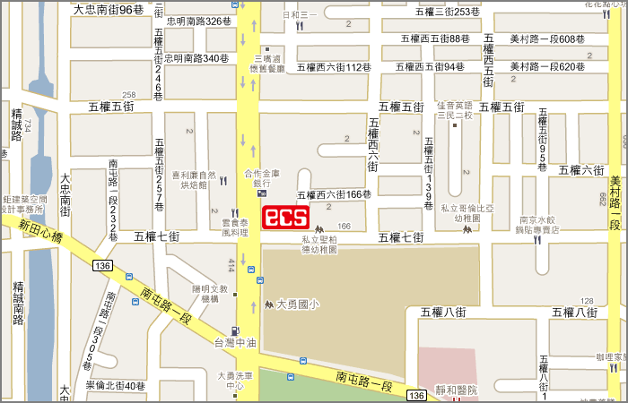 location map taichung