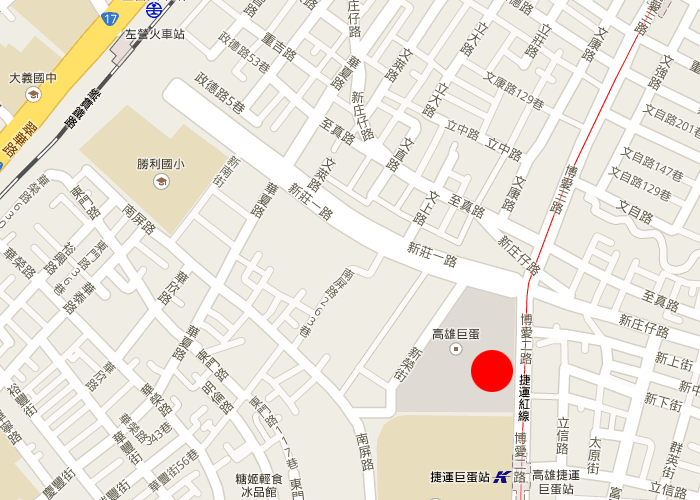 map kaohsiung grand hilai hotel