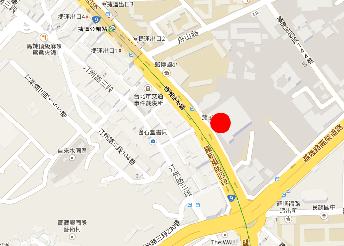 map taipei gis ntu convention center